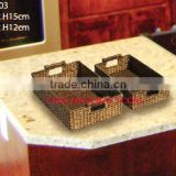 WATER HYACINTH BASKET/ TRAY TCC-BK03