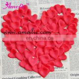 Heart shape rose petal