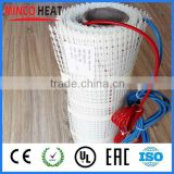 Free shipping kitchen electrical infrared radiant floor heating resistant mat under tile heating