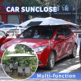 Wholesale Funny custom design retractable magnetic foldable printing car sunshade 2017 new products