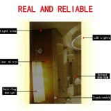 Modern bathroom mirror with demister pad ,modern bathroom mirror with touch switch
