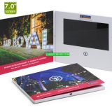 2017 High quality Promotion 7 inch digital lcd video screen greeting cards video brochure Book