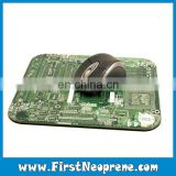 Electronic Circuit Board Cheapest Neoprene Mouse Mat