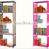 High quality simple design folding wooden book display rack