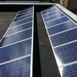 on grid 5kw home solar power plant, 5kw pv modules with on grid 5kw inverter package for home