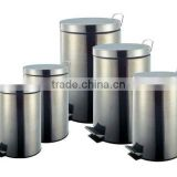 Made in China Stainless Steel Trash Bin Set of 5