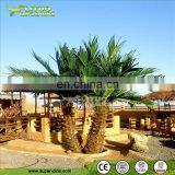 Big Simulation Plant of Artificial Palm Tree