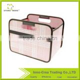Fabric Foldable Storage Bags &Box with Two Handle
