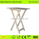 cheap FSC wood folding stool