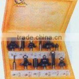 Tungsten carbide router bit-12pcs set-G (0872)