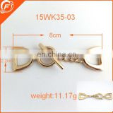 fashion wholesale metal accessories for clothing