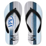 ELINK GIFT cheap price customized logo beach sandals flip flops plastic slippers