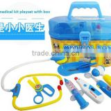 plastic hospital play set doctor play toys for kids from china icti factory