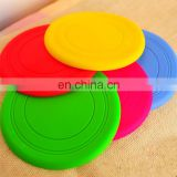 Custom Printed solid Flying Disc Frisbee pet toy wholesale