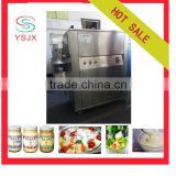 two heads mix type peanut butter / salad dressing filling machine