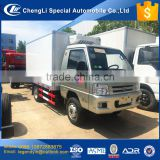 CLW small freezer truck series double rear wheels 3 tons 3000kg meat seafood vegetable transport freezer box truck for sale
