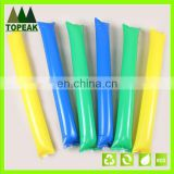 Hot sale inflatable clap stick balloon clappers cheering sticks Aluminum Foil Balloons