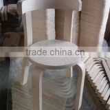 Used Popular Outdoor Wooden Small Round Stools For Sale