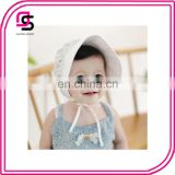 Latest fashion cute lace baby caps for girls lovely little princess hats