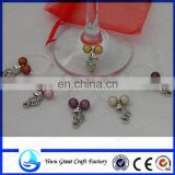 Beach Babe Wine Glass CharmS
