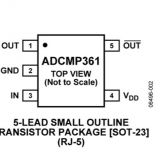 ADCMP361YRJZ-REEL7 ADI NEW and ORIGIONAL 16+ SOT23  (Single 0.275% Comparator and Reference with Dual Polarity Outputs)