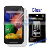Clear LCD Screen Protector Guard Film for Motorola Moto E XT1021 XT1022 XT1025