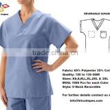 Reversible Scrub Top