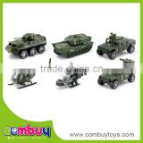 New product small military diecast models set toy