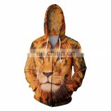 2017 Animal Style 3d Sublimation Printed Hoodie For Men