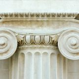 Hollow /Solid Pillars Marble Granite Sandstone Striated Fluted Roman Column Greek Ionic /Doric / Corinthian stone column