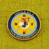 New Orleans Fire Department Custom Coins
