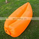 Inflatable lounge bag hammock air bed banana sofa