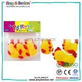 Cheap price custom bath toy small plastic rubber rooster toys
