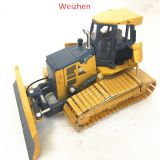 Zinc alloy bulldozer model manufacturing