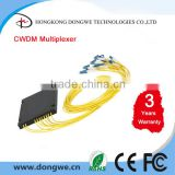 CWDM Passive MULTIPLEXER 1*8,LC/UPC,0.9mm,1m,1470-1610nm,8 channels,COM+1310 share one fiber port