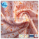 Wholesales 94% polyester 6% spandex jacquard cationic knited fabric sucker bubble for garment clothes dress ect