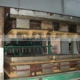 Compressed sawdust pallet production line