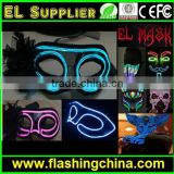 hot sell led flashing mask el party face mask for all