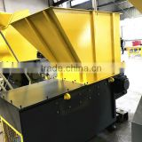 recycling PET bottles by Single shaft shredder