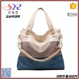 W299 China wholesale cheap big bag female office PU leather lady purse women handbag bags
