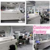 SMD lead free reflow oven machine