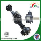 China manufacture full-floating rear axle with oil brake