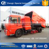 10 12 14 cubic meters vacuum stainless steel road cleaning water tank street sweeper