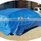 PE fabric sheet, blue car cover, cargo cover fabric