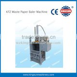 KFZ waste paper baler machine