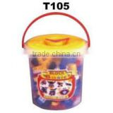 200pcs PS building block with bucket set