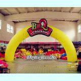 Customized Advertising Inflatable Arch for Outdoor Entrance