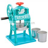 Swan Manual Ice Shaver Small Japanese Classic Style Shaved Ice Maker
