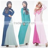 women elegance muslim dress/women long sleeve abaya kaftan dresses/ islamic muslim gown