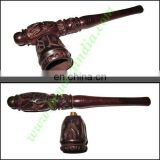 Handmade rosewood smoking pipe, size : 6.5 inch pipe